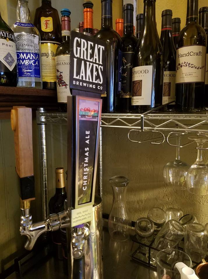 It's that time of year! Now serving Great Lakes Brewing Company Christmas Ale on tap!